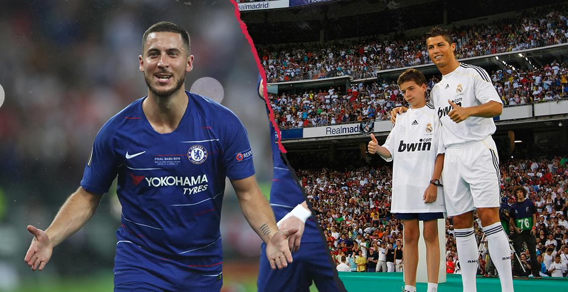 El Madrid trabaja para que Hazard supere la asistencia de Cristiano en su presentación