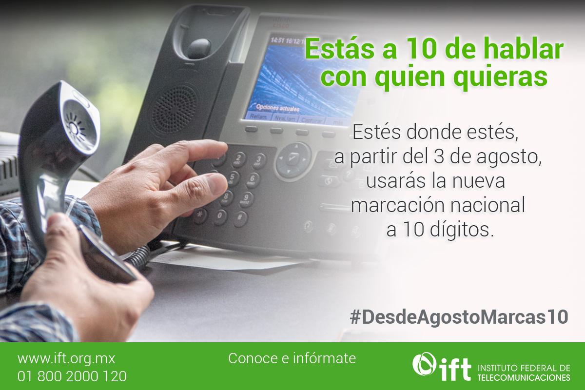 ¡El fin de una era! Así será la nueva marcación telefónica en México