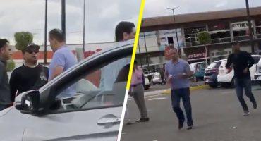 Regidor de Morena agrede a mujer que lo grabó presuntamente
