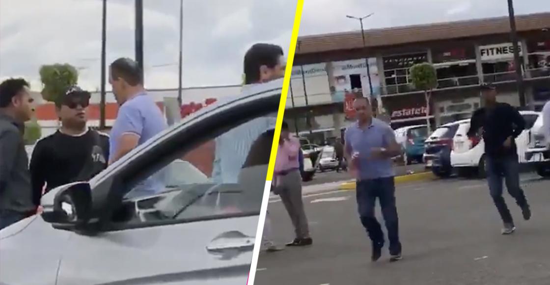 """Regidor de Morena agrede a mujer que lo grabó presuntamente """"mapacheando"""" votos en urna de Puebla"""