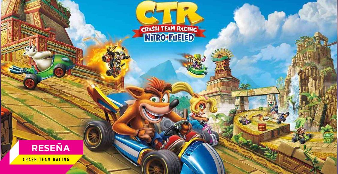 'Crash Team Racing: Nitro Fueled': Un juego supercargado en todos los sentidos