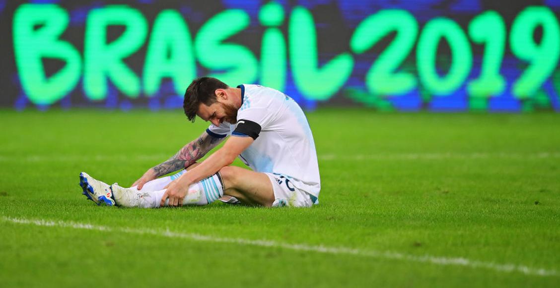 Los resultados que eliminarían a la Argentina de Messi de la Copa América 2019