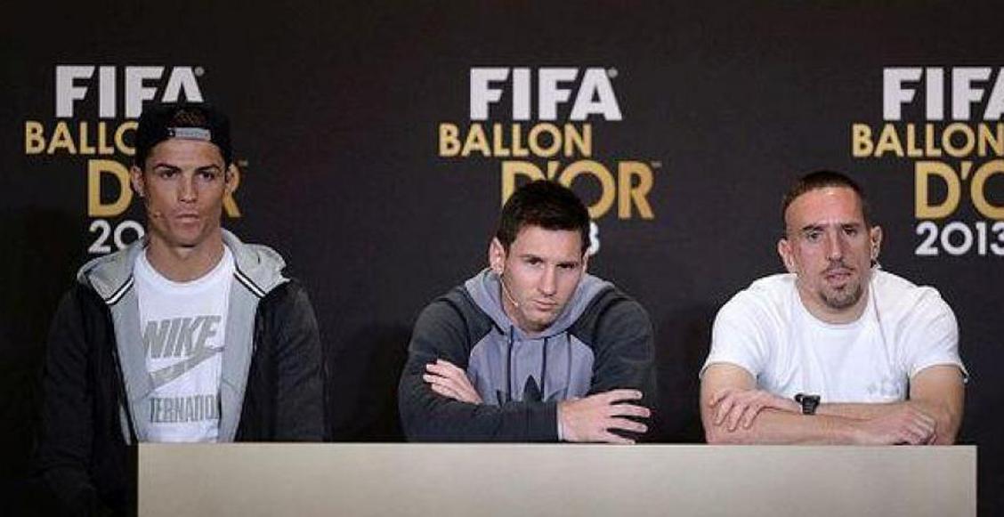 Perder el Balón de Oro contra Messi y Cristiano: la mayor injusticia en la carrera de Ribéry