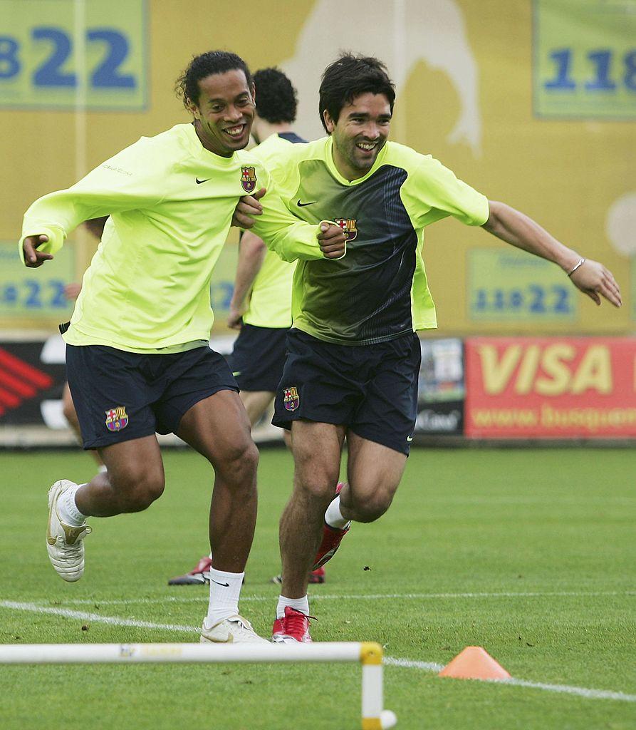Deco y Ronaldinho llegaban borrachos