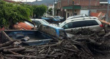 Lluvias provocan deslave en San Gabriel, Jalisco; una persona muere y 3 se encuentran desaparecidas