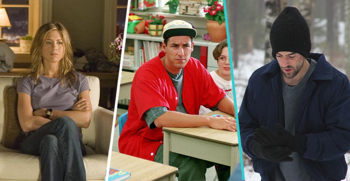10 películas de Adam Sandler, Jennifer Aniston y Luis Gerardo Méndez para ver en Netflix