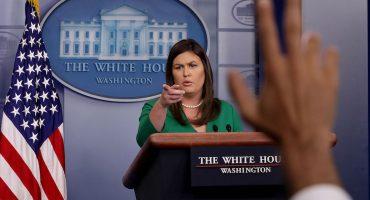 Bye! Sarah Huckabee Sanders, la de prensa de Trump, deja la Casa Blanca