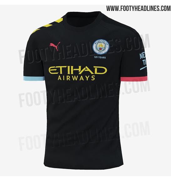 Se filtró el nuevo uniforme 'multicolor' del Manchester City por accidente