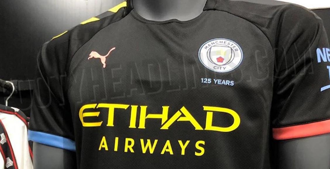 Se filtró el nuevo uniforme 'multicolor' del Manchester City por accidente