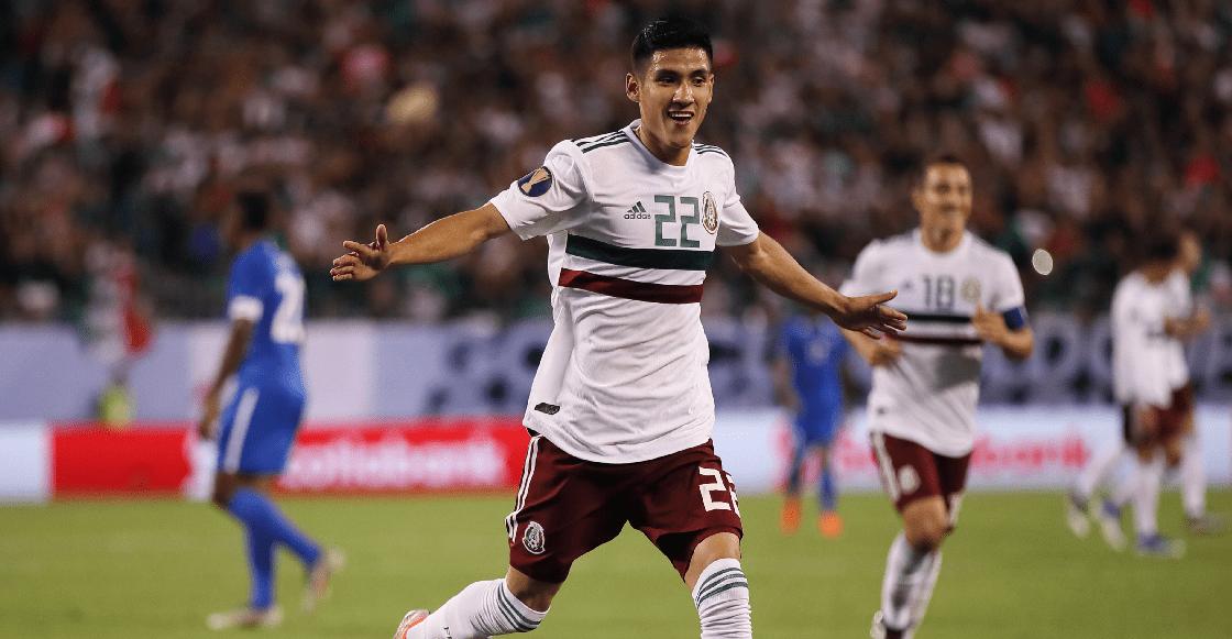 México doblegó apenitas a Martinica, que nos hizo el mejor gol de la Copa Oro