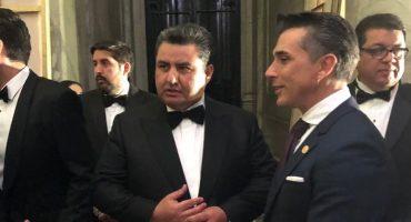 Sergio Mayer dice que él nomás era 'público general' en Bellas Artes
