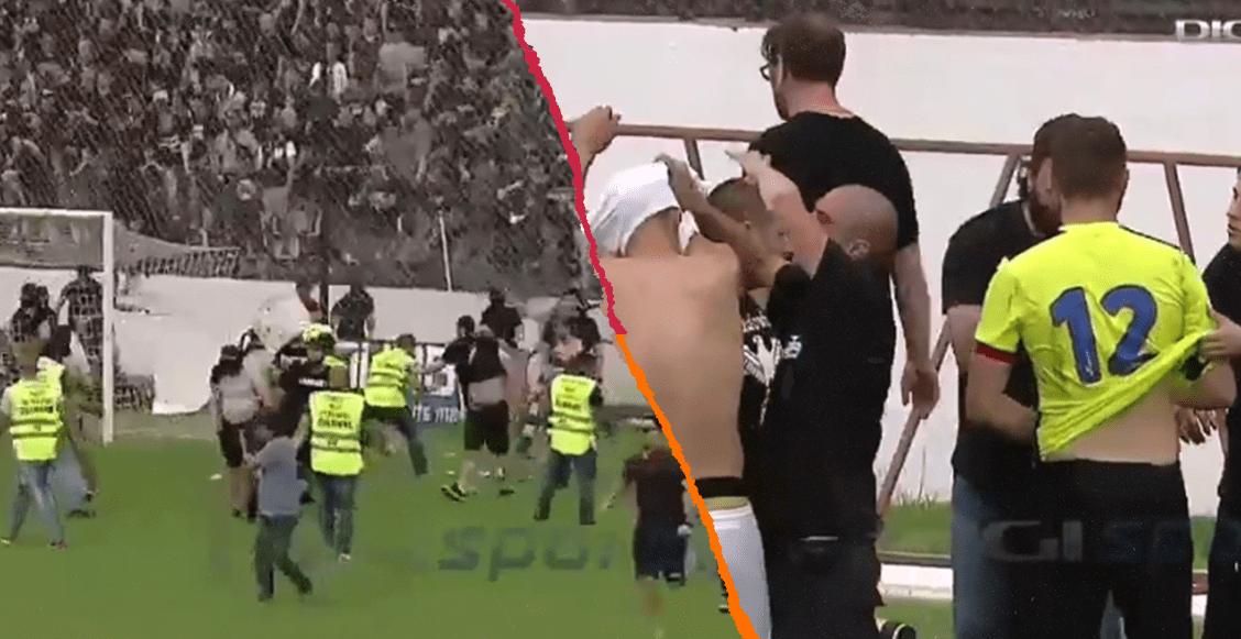Aficionados del Steaua Bucarest agreden a jugadores tras perder el ascenso