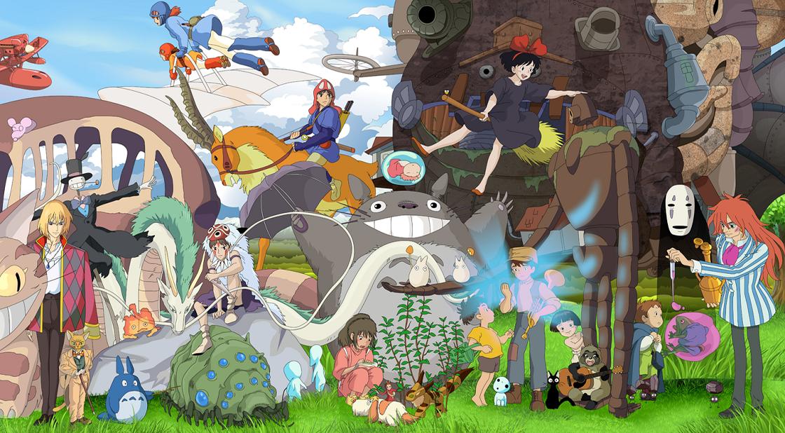 Parque temático inspirado en Studio Ghibli