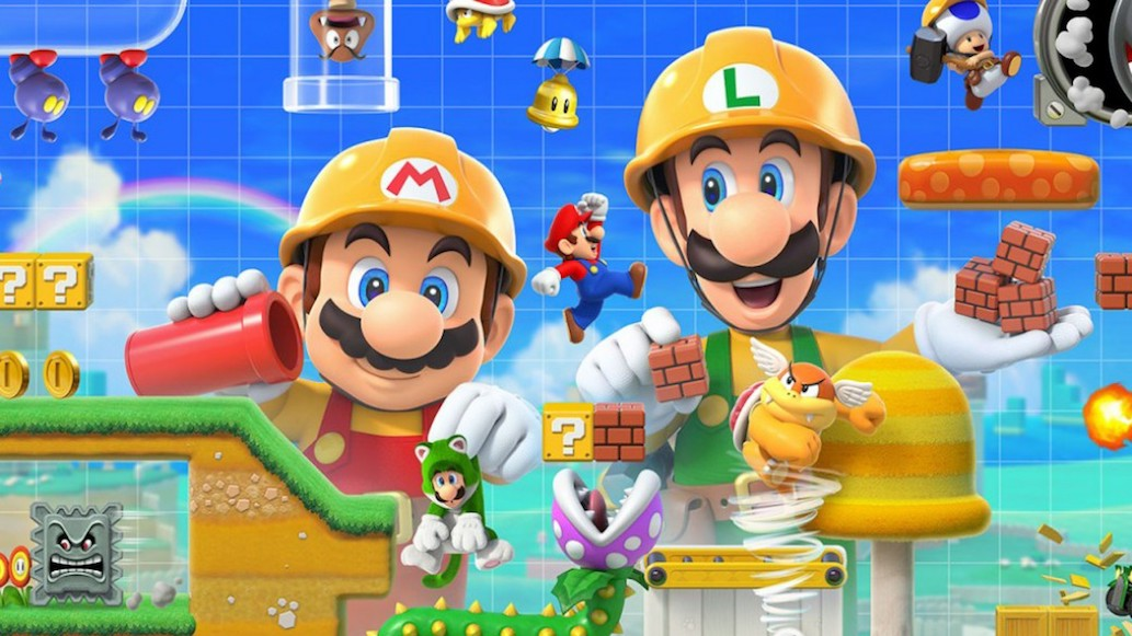 ¡Pulgares arriba! 'Super Mario Maker 2' para Nintendo Switch ya está disponible