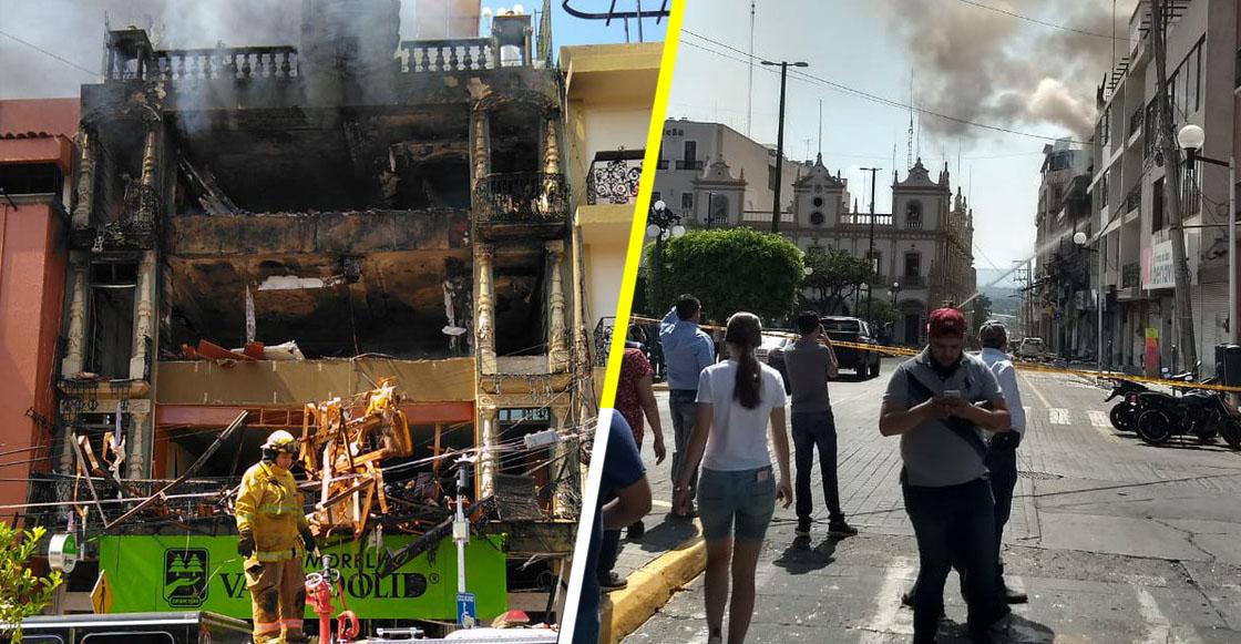 Suman cuatro muertos por explosión de tanque de gas en Tepatitlán, Jalisco