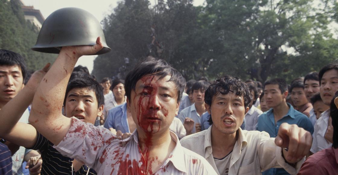 En imágenes: a 31 años de la masacre de Tiananmen en China