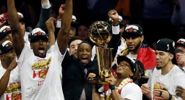Después de seis juegos, Toronto se corona en la NBA ante los Warriors