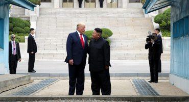 REunión entre Donald Trump y Kim Jon Un en la frontera de Corea del Norte y Corea del Sur