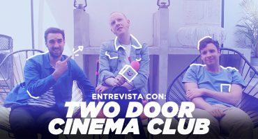 Two Door Cinema Club nos contó cómo conocieron a Lars Ulrich gracias a un autógrafo