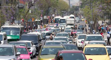 Para reducir emisiones, en CDMX se restringirá circulación de vehículos con placas foráneas