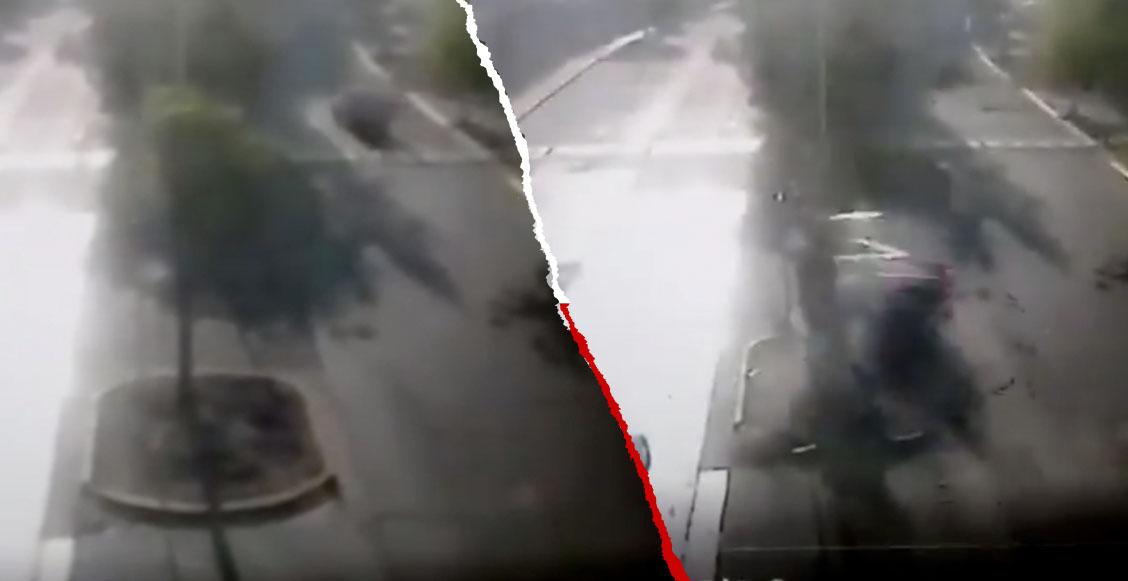 Difunden el video del choque de Joao Maleck donde dos personas murieron