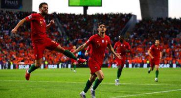 El gol de Goncalo Guedes que coronó campeón a Portugal de la Nations League
