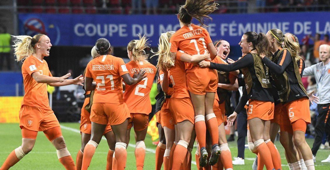 Holanda 'despachó a Italia en el Mundial Femenil y espera rival en semifinales