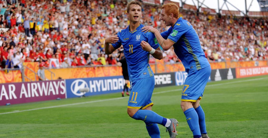 Los goles con los que Ucrania se coronó campeón del Mundial Sub-20 ante Corea del Sur