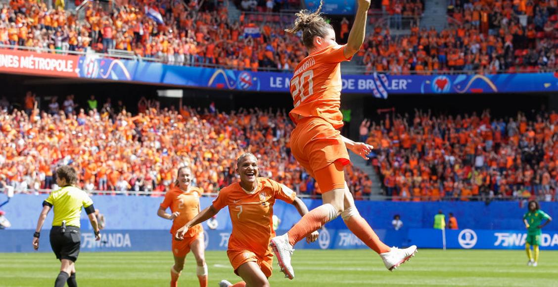 ¡Qué goles! Holanda impone respeto en el Mundial Femenil con gran victoria ante Camerún