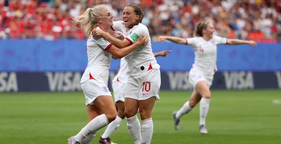 Inglaterra goleó a Camerún y Noruega las espera en cuartos del Mundial Femenil