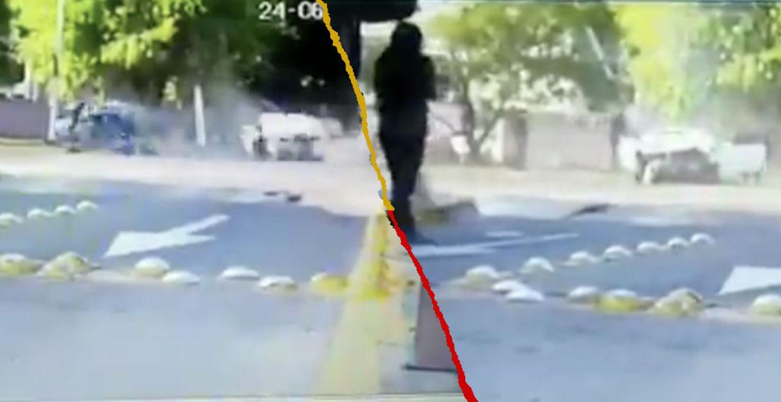 Aparece nuevo video del accidente de Joao Maleck; su copiloto se desplomó