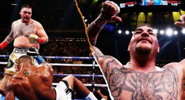 Andy Ruiz, primer campeón mexicano de peso pesado de toda la historia