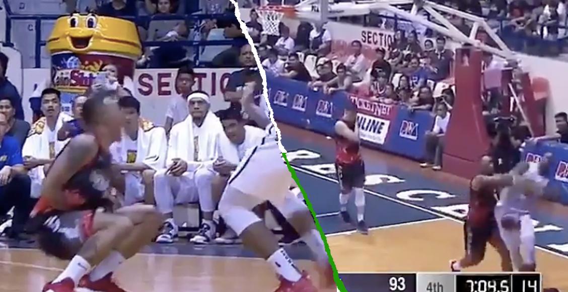Golpe en los genitales inició una batalla campal en un partido de basquetbol