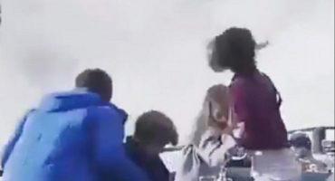 ¿Vieron el aterrador video de la avalancha? Bueno, resulta que es fake