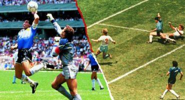 Recordemos 'La Mano de Dios' y 'El Gol del Siglo', el 'cielo y el infierno' de Maradona