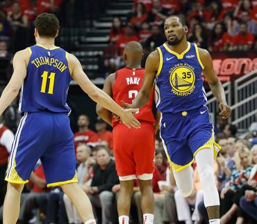 Golden State confía en mantener a Kevin Durant y Klay Thompson al menos una temporada más