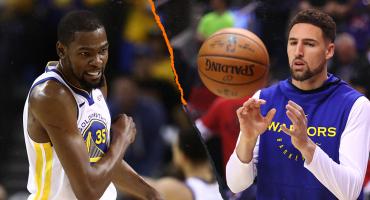 La buena para los Warriors: Klay Thompson jugará el viernes; la mala, Kevin Durant, descartado
