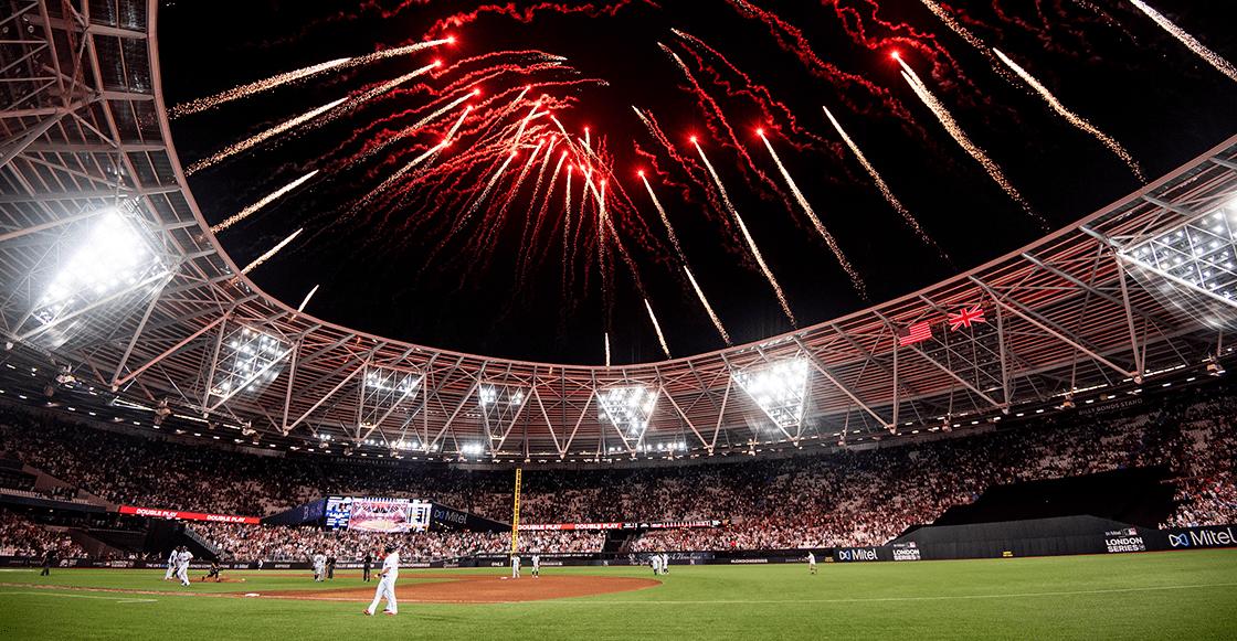Así se puso el Yankees vs Red Sox de Grandes Ligas en Londres