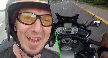 Y en la nota idiota del día: Youtuber muere por grabarse manejando una moto con los pies