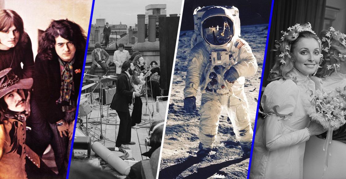 1969: 50 años de que el hombre llegó a la Luna y todos estos eventos