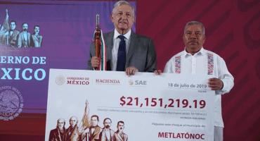 Recursos de la subasta de mansiones van para 2 municipios de Guerrero