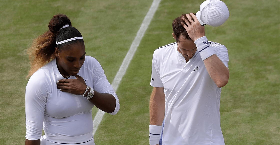 ¡Sorpresón! Andy Murray y Serena Williams quedaron fuera de Wimbledon