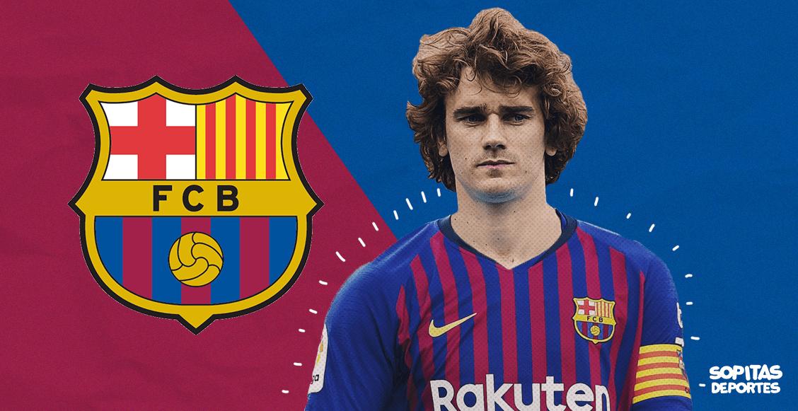 ¡Ya es oficial! Antoine Griezmann es nuevo jugador del Barcelona