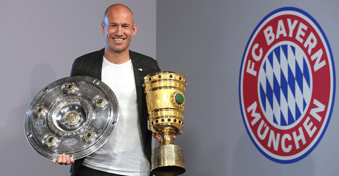 ¡Adiós! Arjen Robben anunció su retiro del futbol