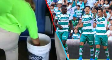 Así respondió Santos a la 'cerveza sucia' que se vende en su estadio