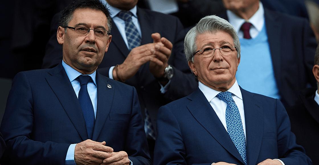 """Nos han faltado al respeto"": Atlético de Madrid le respondió a Bartomeu"