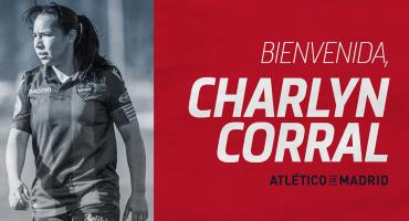 ¡Mexicana rojiblanca! Charlyn Corral es nueva jugadora del Atlético de Madrid