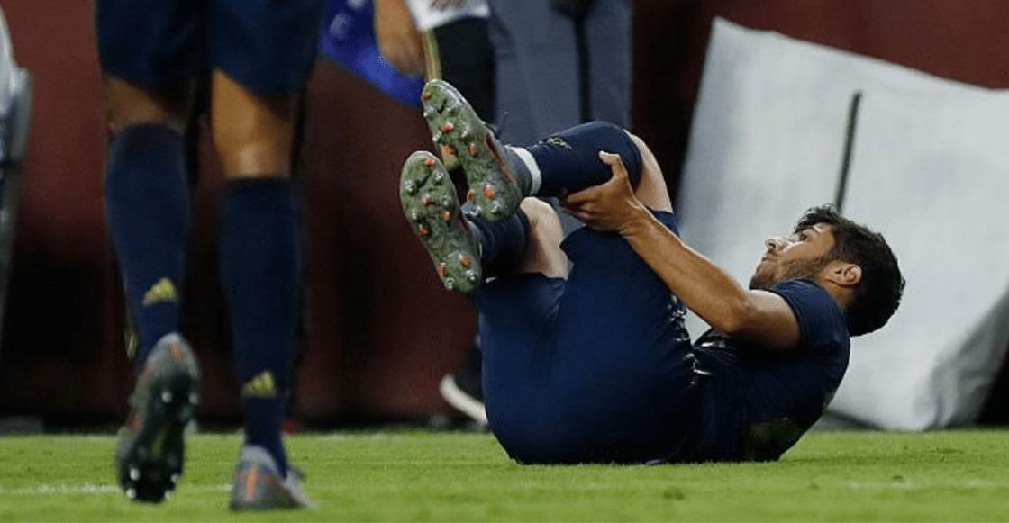 ¡Adiós temporada! Confirman rotura de ligamento cruzado de Marco Asensio