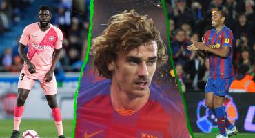 ¿Cuántos futbolistas franceses han jugado en el Barcelona?