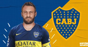 ¡De Italia a Argentina! Daniele De Rossi es nuevo jugador de Boca Juniors